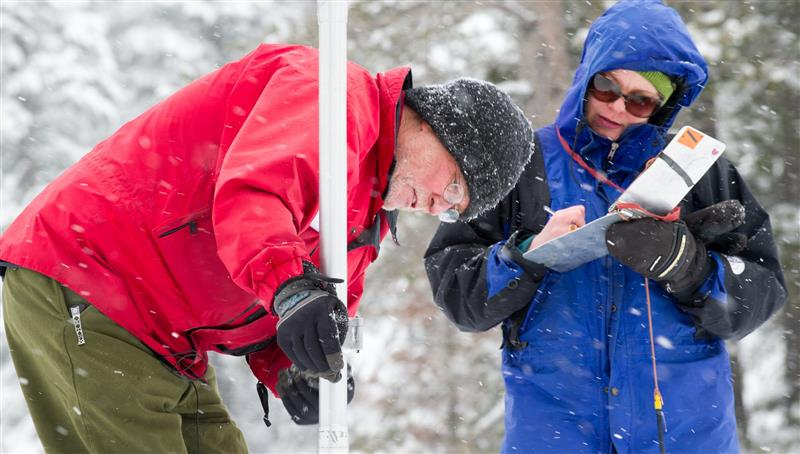 NOAA research holds promise of predicting snowpack before snow falls