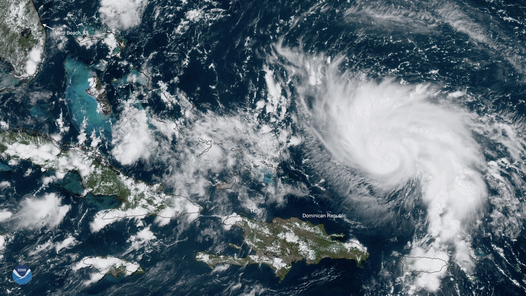 Researchers are gathering data on Hurricane Dorian to improve forecasts