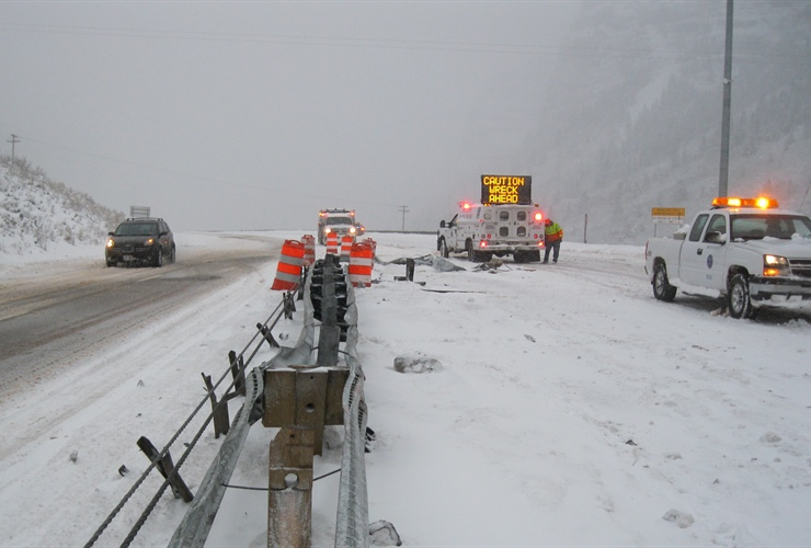 NOAA researchers are working to make traveling in winter weather safer