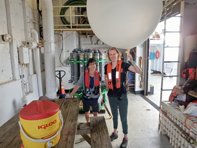From the ocean to the clouds: Life on the NOAA ATOMIC mission