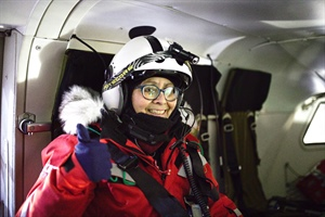 What's it like to spend four-plus months locked in the Arctic ice?