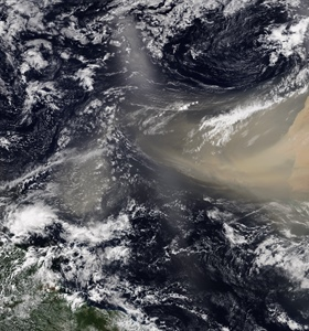 The Saharan Air Layer: What is it? Why does NOAA track it?