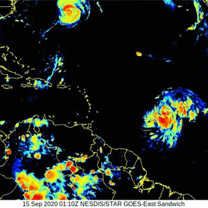 NOAA scientists gather key data on Hurricane Sally