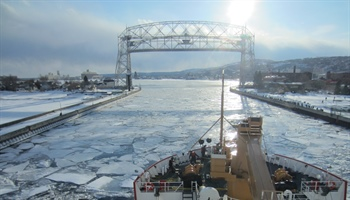NOAA projects 30-percent maximum Great Lakes ice cover for 2021 winter