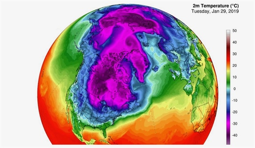 Frigid Arctic air outbreaks may be predictable, new research suggests