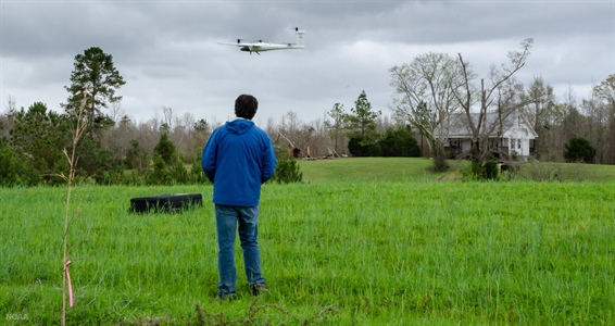 NOAA scientists use drones to see tornado damage in remote areas