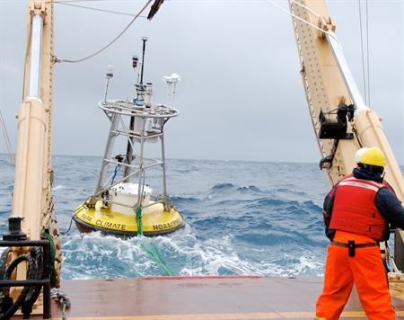 Collecting ocean-climate data