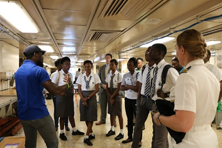 Students take science tour