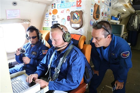 NOAA releases unmanned aircraft inside Hurricane Edouard