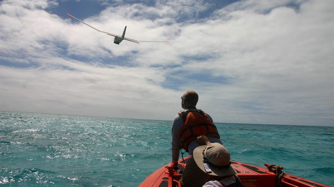 NOAA tests unmanned aircraft for wildlife surveys and environmental research in Hawaii