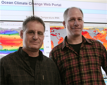 Mapping climate change in the oceans