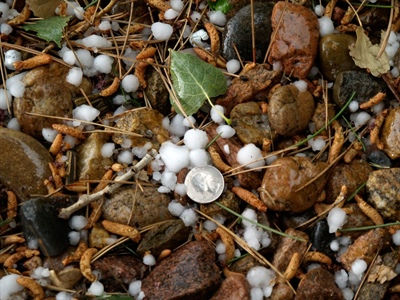 Colorado mountain hail may disappear in a warmer future
