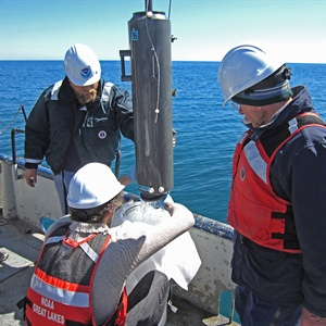 NOAA Great Lakes researchers join U.S.-Canadian study of Lake Huron ecosystem