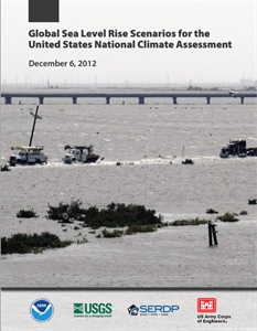 New NOAA technical report reveals global sea level rise scenarios through 2100