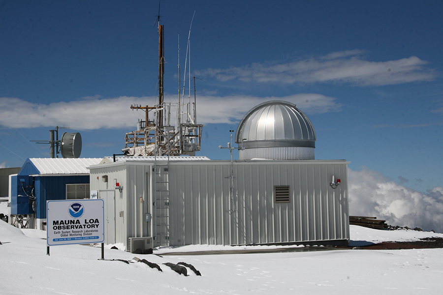 Carbon Dioxide at NOAA's Mauna Loa Observatory reaches new milestone: Tops 400 ppm