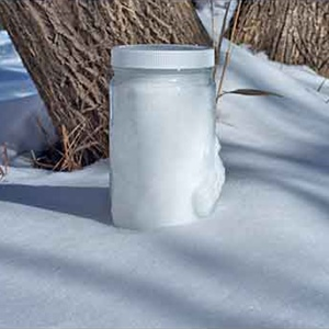 Scientists size up black carbon in snow