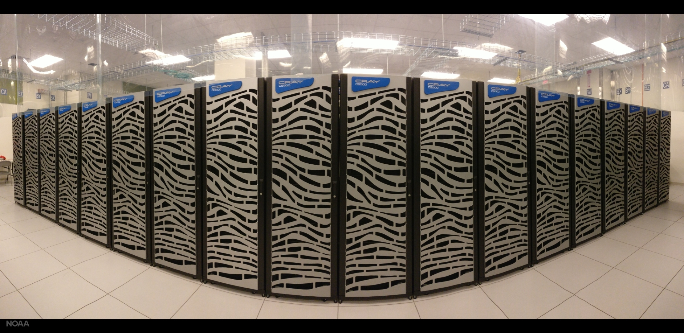 Noaa High Performance Computer Rated Among Top 500 In The World Welcome To Noaa Research