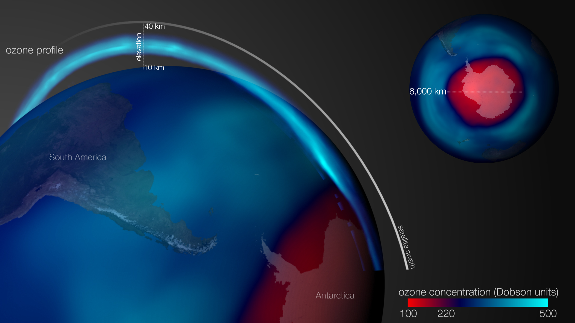 Ozone hole dynamics in recent years