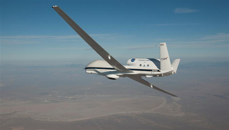 NASA Global Hawk arrives in Virginia to begin NOAA-led mission to improve hurricane forecasts