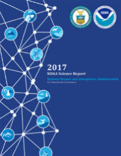 2017 NOAA Science Report Book Cover Image