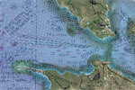 Drifting Buoys Track Water Currents in the Great Lakes Straits of Mackinac