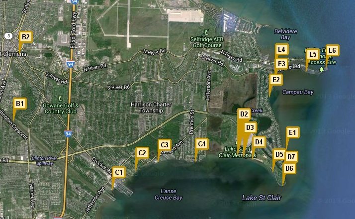 NOAA real-time beach and water quality data now available for Lake St. Clair