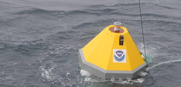 A more acidic Arctic? NOAA deploys first buoy in region to monitor levels of CO2 absorbed by ocean