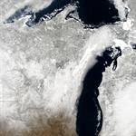 Decades of research on Great Lakes ice cover reveal trends