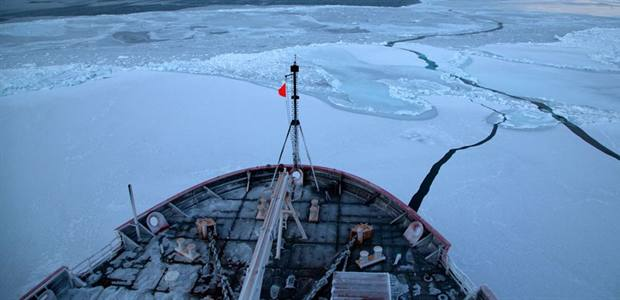 New study shows Arctic Ocean rapidly becoming more corrosive to marine species