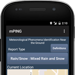 mPING Weather App Goes Global