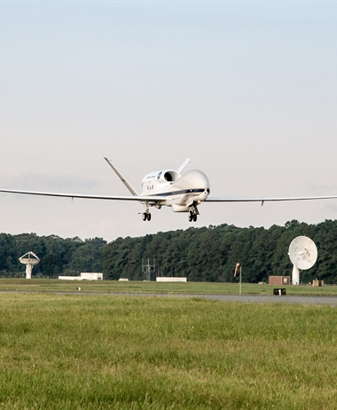 Unmanned aircraft readies to sample Atlantic hurricanes