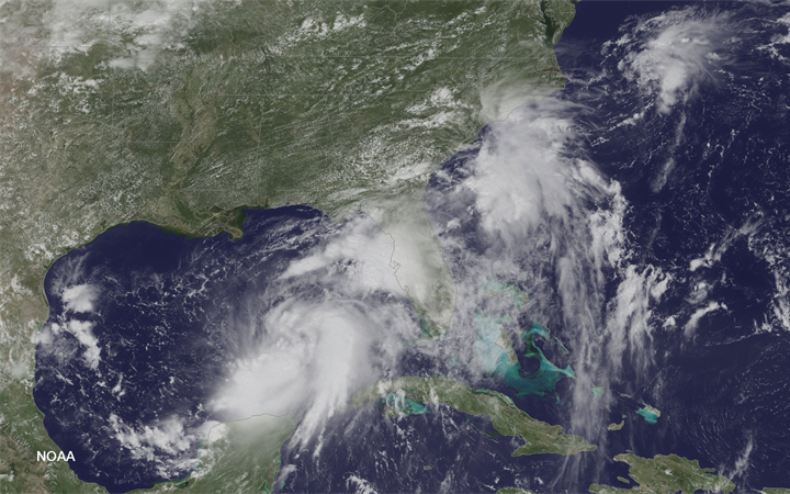 Capturing the genesis of Tropical Storm Hermine