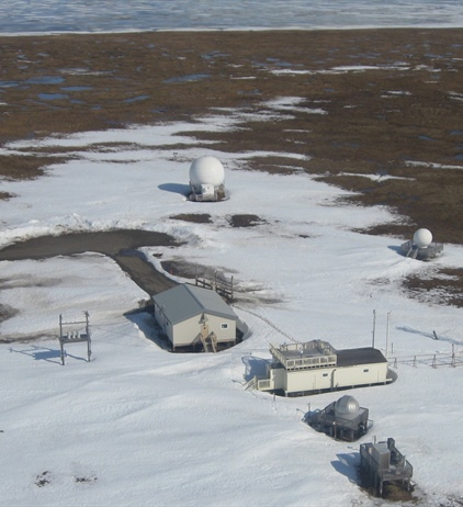 As the North Slope of Alaska warms, greenhouse gases have nowhere to go...