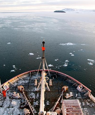 NOAA scientists set sail on Coast Guard icebreaker to measure change in...