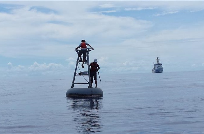 NOAA observing buoys validate findings from NASA's new satellite for...