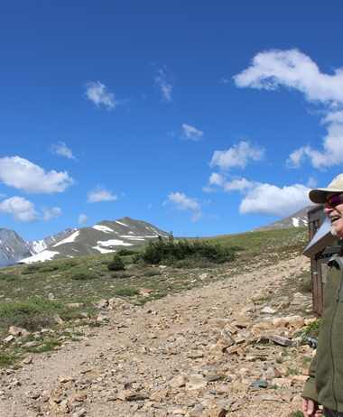 A climate science milestone on Colorado's Continental Divide