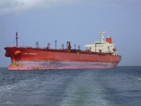 Oil/Chemical Tanker, Las Cuevas.