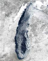 Ice Cover on Lake Michigan