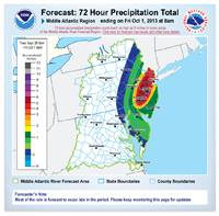Improved precipitation graphic