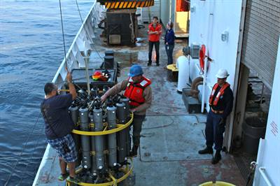 Measuring ocean acidification