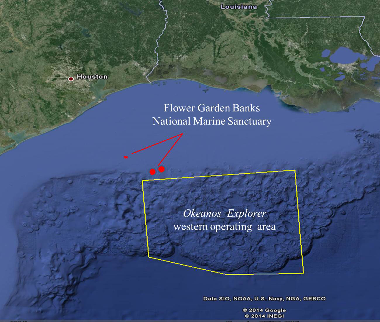 Virtual explorers invited to the depths of the Gulf of Mexico on